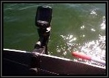 Another view of this great little fishfinder. Youi get side scan sonar with this unit wihich comes in real handy.