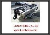 LUND boats have a reputation for outstanding construction and reliability. The wide beam and high bow keeps you safe and dry.