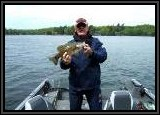 One of my Smallmouth bass on this trip on the Worm