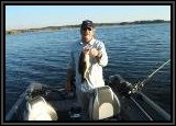 "Dan catches another nice Largemouth Bass on the 4"" Tube Bait"