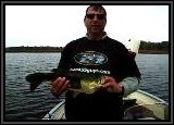 "Another view of Vinny's Largemouth caught with the 4"" Tube."