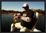 Vinny catches another Largemouth with the Tube!