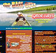 Gator Lures being used on the Ashokan Reservoir catching Smallmouth Bass