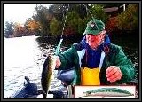 Dennis hooks up a nice Largermouth Bass Seadream 115F S-007