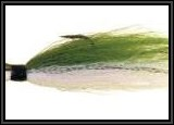 Typical 3 to 4 oz Bucktail jig that we dragged along the bottom